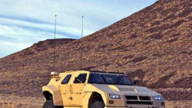 Разработват нов военен тактически автомобил