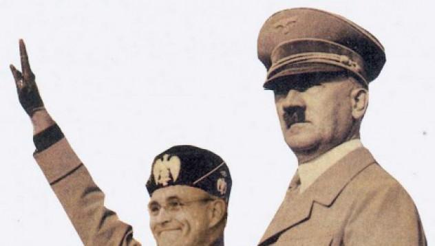 1500 евро за името Мусолини