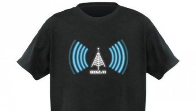 Тениска детектор за Wi-Fi