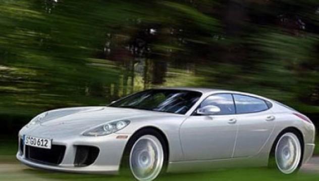 Първото четириврато Porsche