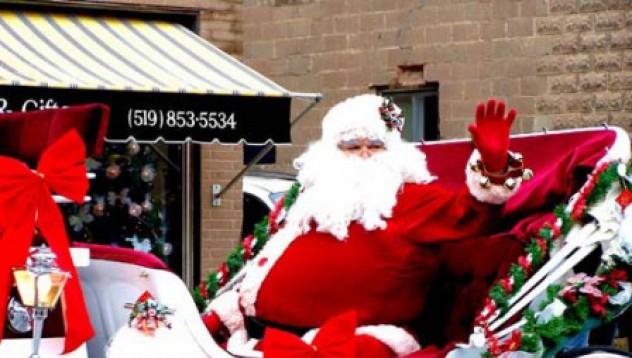 Дядо Коледа е нелегален имигрант