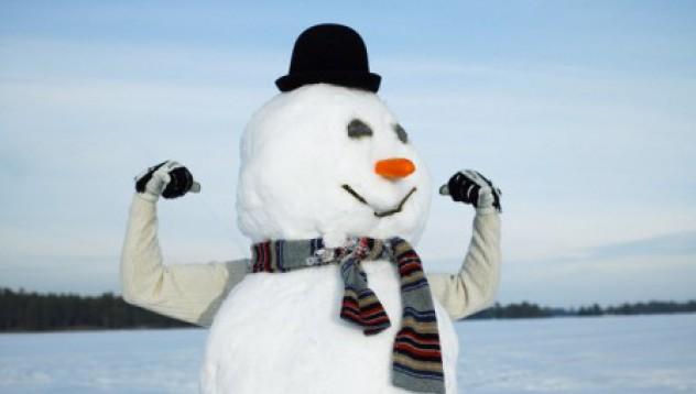 Снежен човек за мъже!