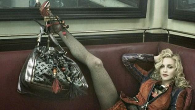 Мадона във фотосесия за Louis Vuitton