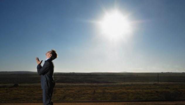 Молитва срещу кредитната криза