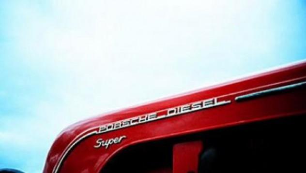 Porsche-то на тракторите
