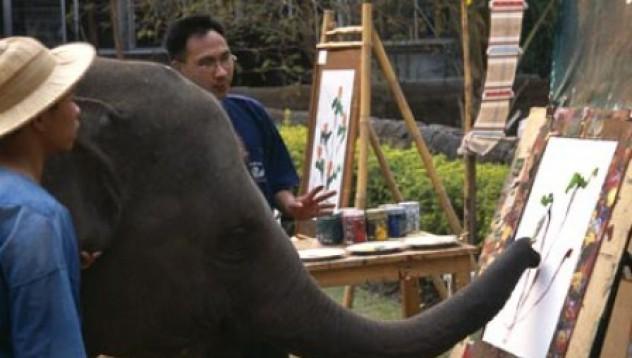 Слонът, мой художник