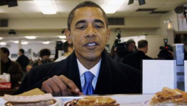 Менюто на Обама в първия му работен ден