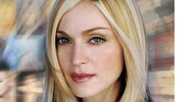 Скандална снимка на Мадона на търг