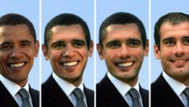 Гуардиола и Обама - почти близнаци