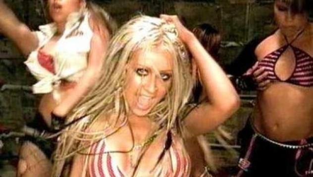 Кристина Агилера с най-секси видео