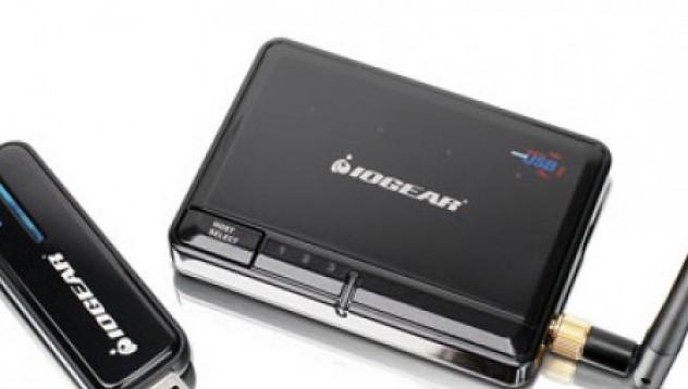 Безжичен USB хъб