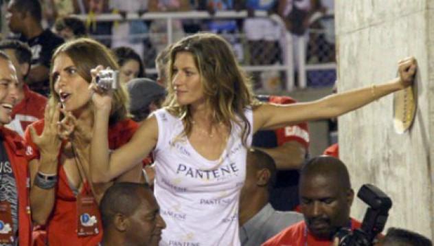 Жизел на карнавала в Рио