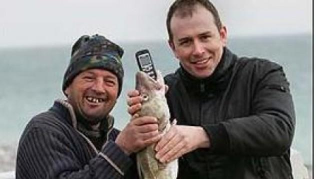 Риба гълта gsm – мисли го за храна
