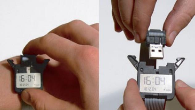 USB ръчен часовник
