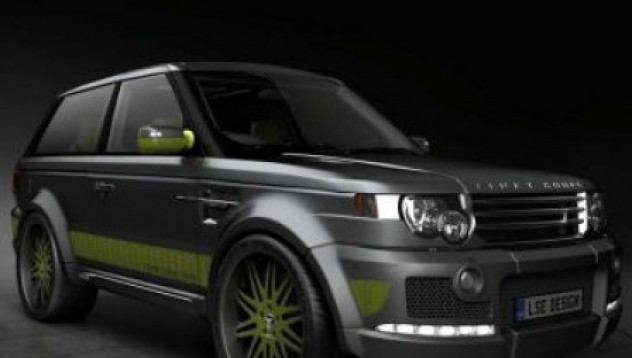 Диамантен Range Rover LSE Coupe