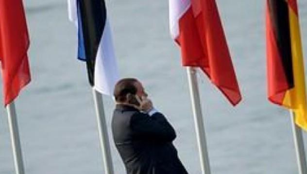 Берлускони предпочете разговор пред Меркел
