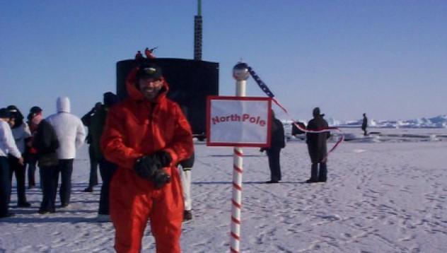 Руски коли на Северния полюс
