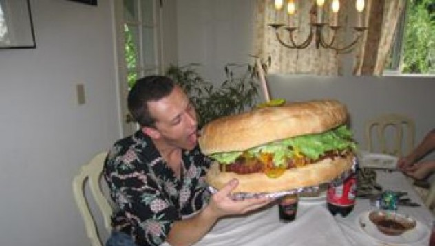 Зеееми тоя хамбургер!