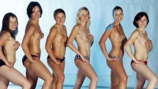 Волейболистки се снимаха голи заради световната финансова криза