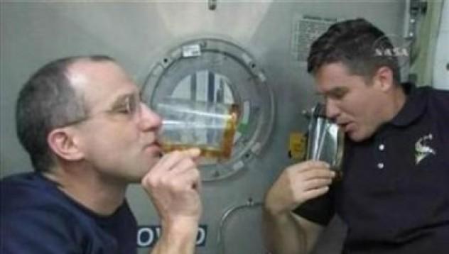 Какво пият астронавтите
