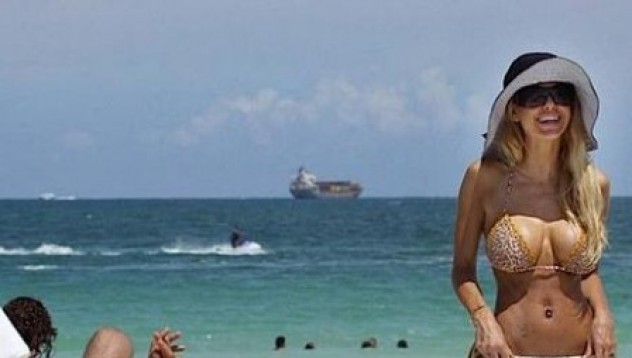 Шона Сенд на плажа