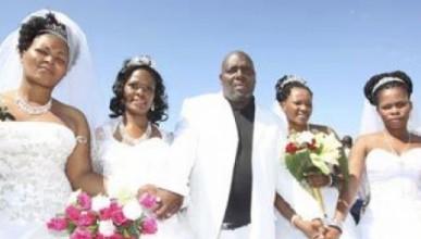 Мъж се ожени за 4 жени наведнъж