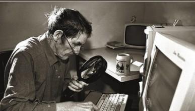 Интернет срещу старческо изкуфяване