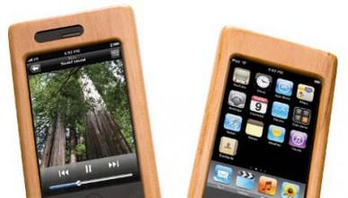 Дървен калъф за iPhone