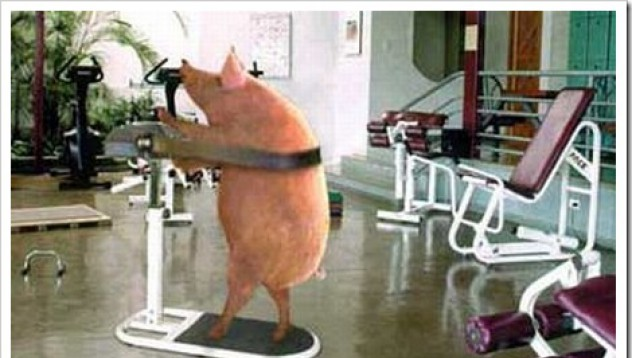 Странен фитнес