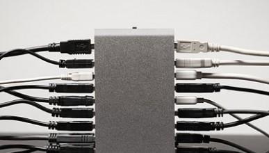 16-портов USB център
