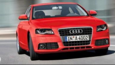 Audi A4 много по-леко!
