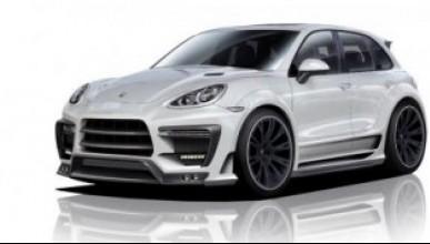 Porsche Cayenne с агресивен пакет от Lumma