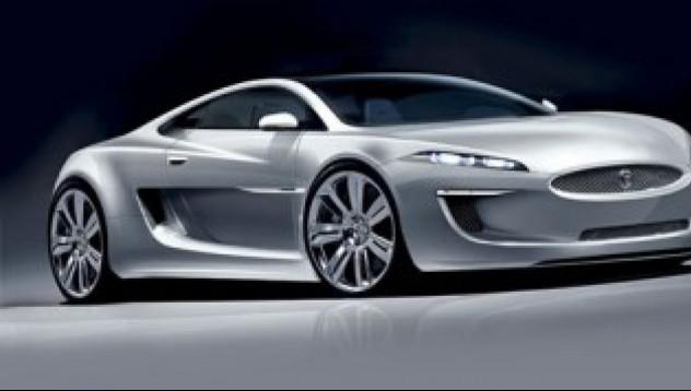 Суперавтомобилът на Jaguar - замразен
