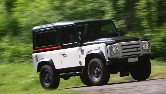 Aznom + Land Rover Defender = чудовище!