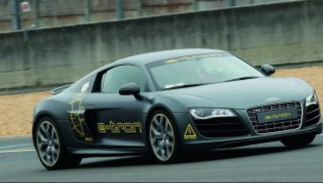 Audi R8 e-tron на 24-те часа на Льо Ман