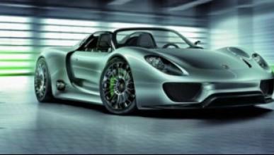 Porsche 918 Spyder идва!