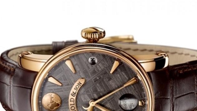 Скъп метеоритен часовник