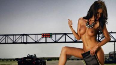 Андреа Некула в румънския Playboy