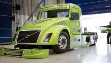 Volvo ще прави най-бърз хибриден камион в света