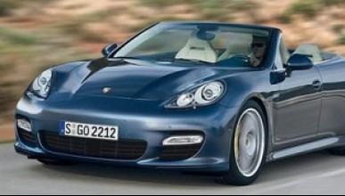 Porsche Panamera кабрио