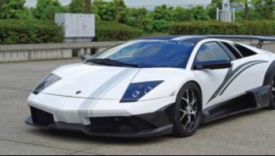 Японци пипнаха Lamborghini Murcielago