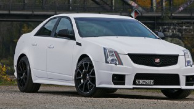 Cadillac CTS-V с фолио