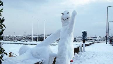 Снежни скулптури