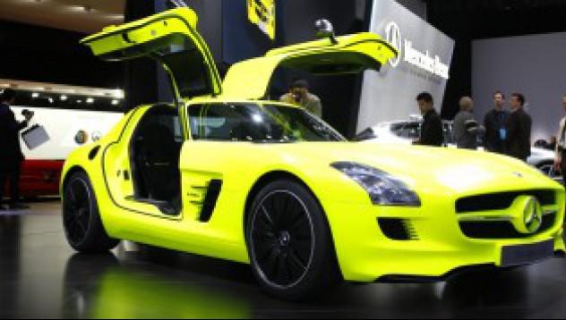Mercedes SLS AMG на ток