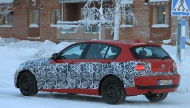 BMW 1-ва серия с по-малко камуфлаж