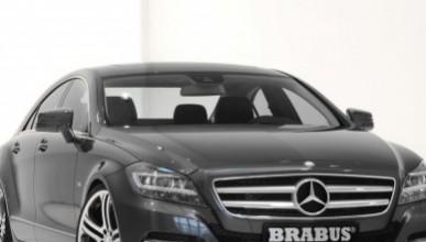 Mercedes CLS с нови джанти от Brabus