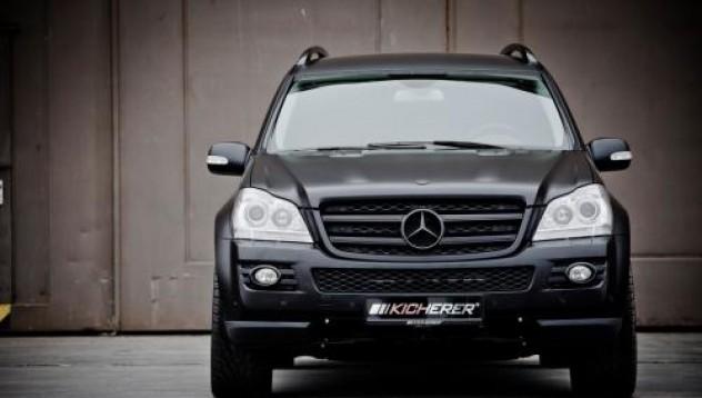 Kicherer разчупи Mercedes GL-Class