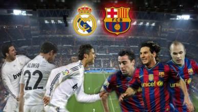 Реал Мадрид и Барса в битка