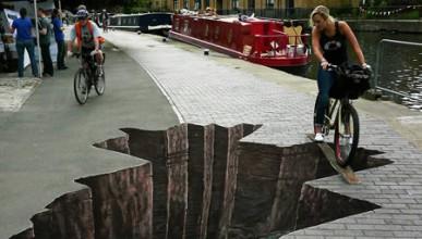 3D дивотии по улиците