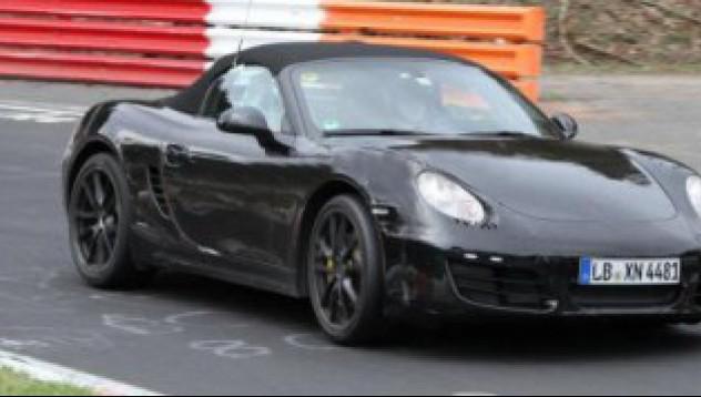 Новият Porsche Boxster
